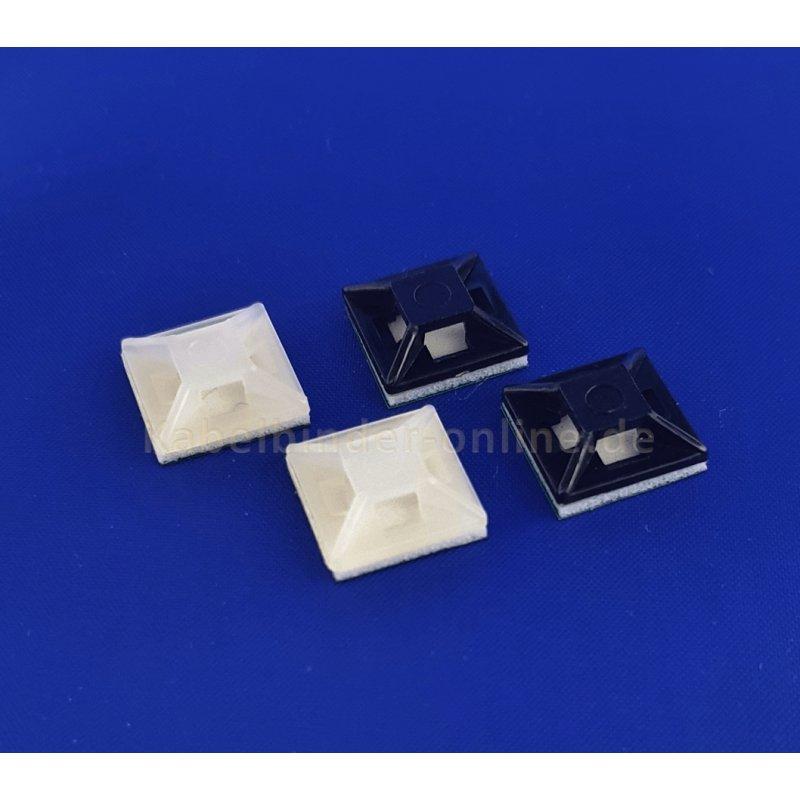 Klebesockel 12,5 x 12,5 mm 1 VP = 100 Stück, 2,35 €