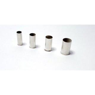 8mm 100Stück Aderendhülsen blank 0,5mm² Länge